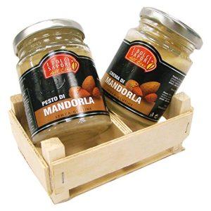 Pesto e crema di Mandorla