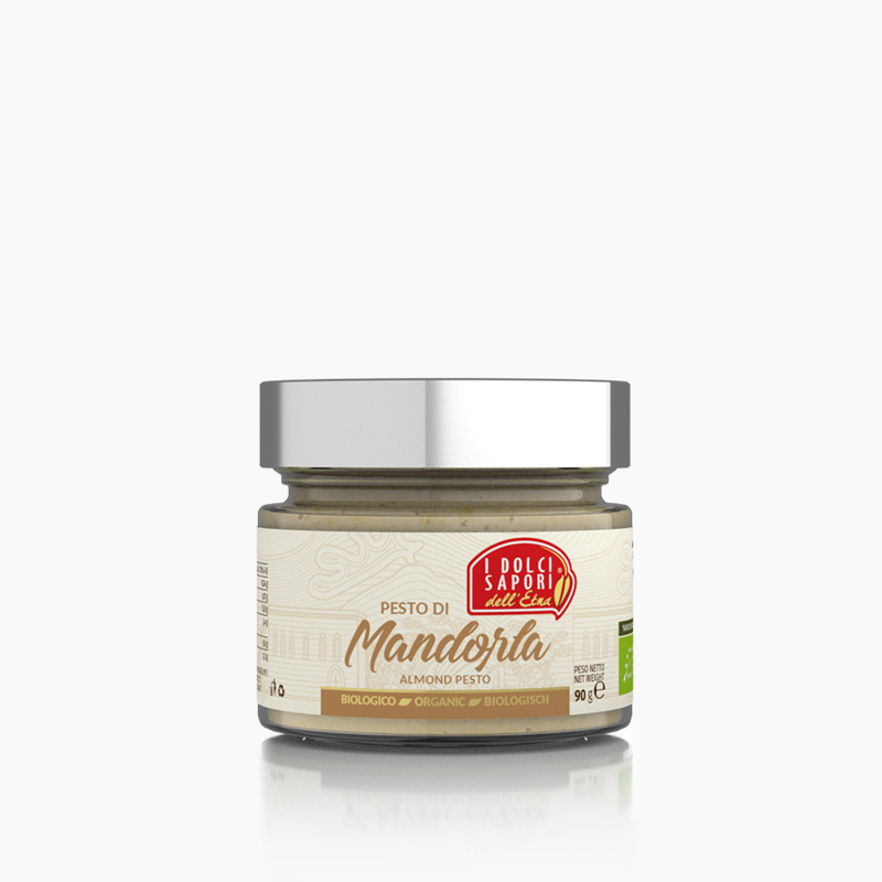 Pesto di Mandorla da gr. 90 BIO
