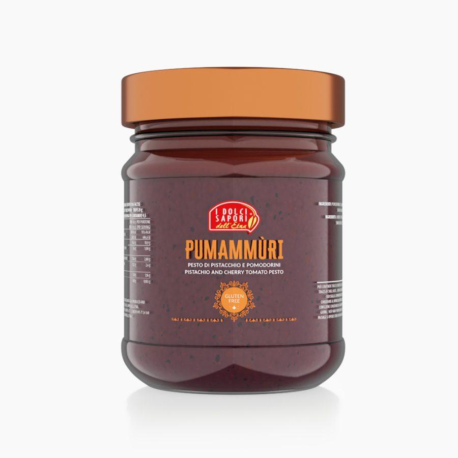 Pumammùri, Pesto di pistacchio e pomodorino