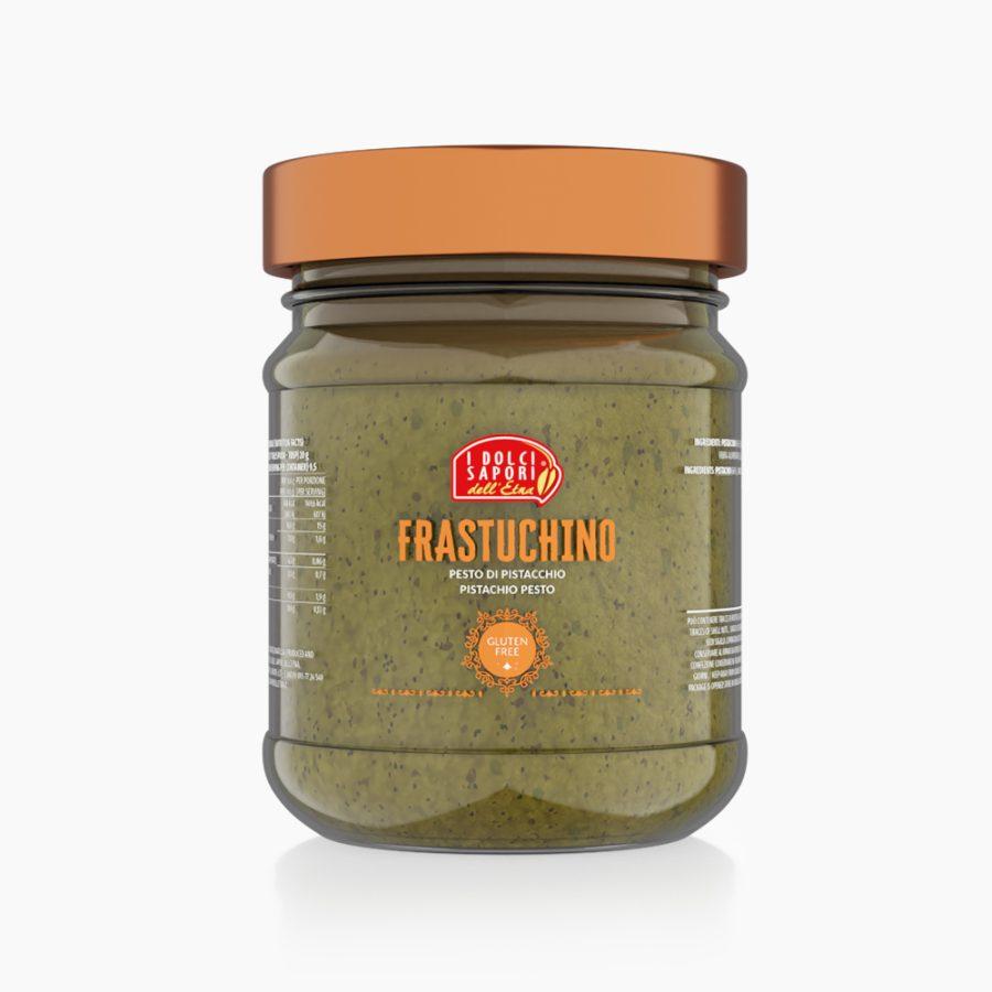 Frastuchino, Pesto di pistacchio