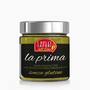 Crema pesto senza glutine di pistacchio verde di bronte D.O.P.